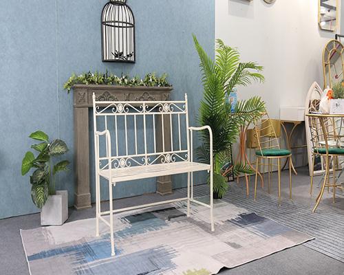 New Design Garden Furniture – Metal Benches seat