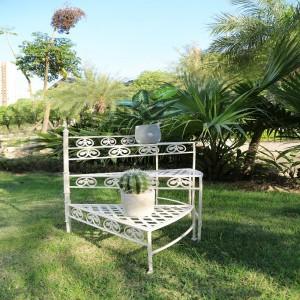 3-tier Iron Decor ladder Flower Pot Planter Stand Shelf 7621