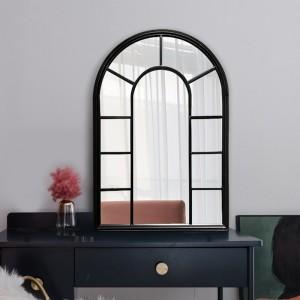 Wholesale Factory Price Window Arch Decorative Wall Floor Home Decor Mirror 34189