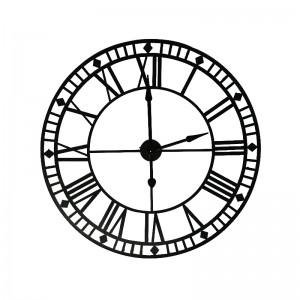 Handicraft Metal Wall Clock Family Decoration C...
