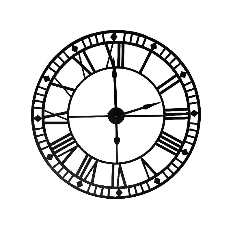 Metal Wall Clock Family Decoration Clock 35441