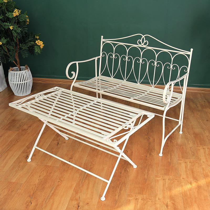 Garden Benchy Garden Bench Outdoor Bench with coffee table 38420-38421