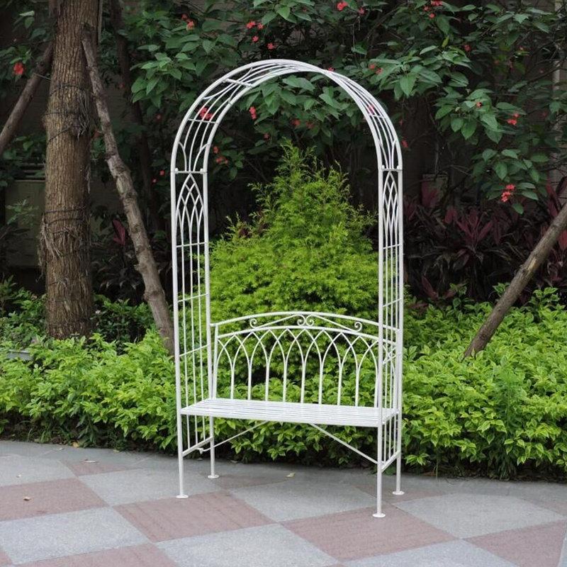 Iron Antirust Wedding Decoration Garden Gothic Arch 32618
