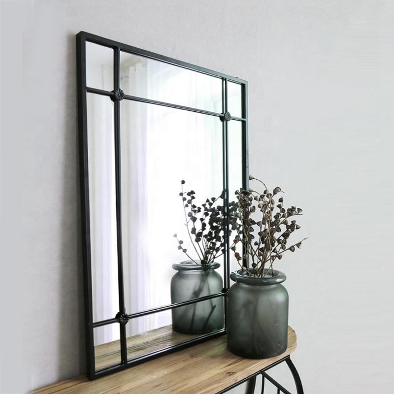 Mirrors Wall Decor Long Rectangular Framed Venetian Mirror a