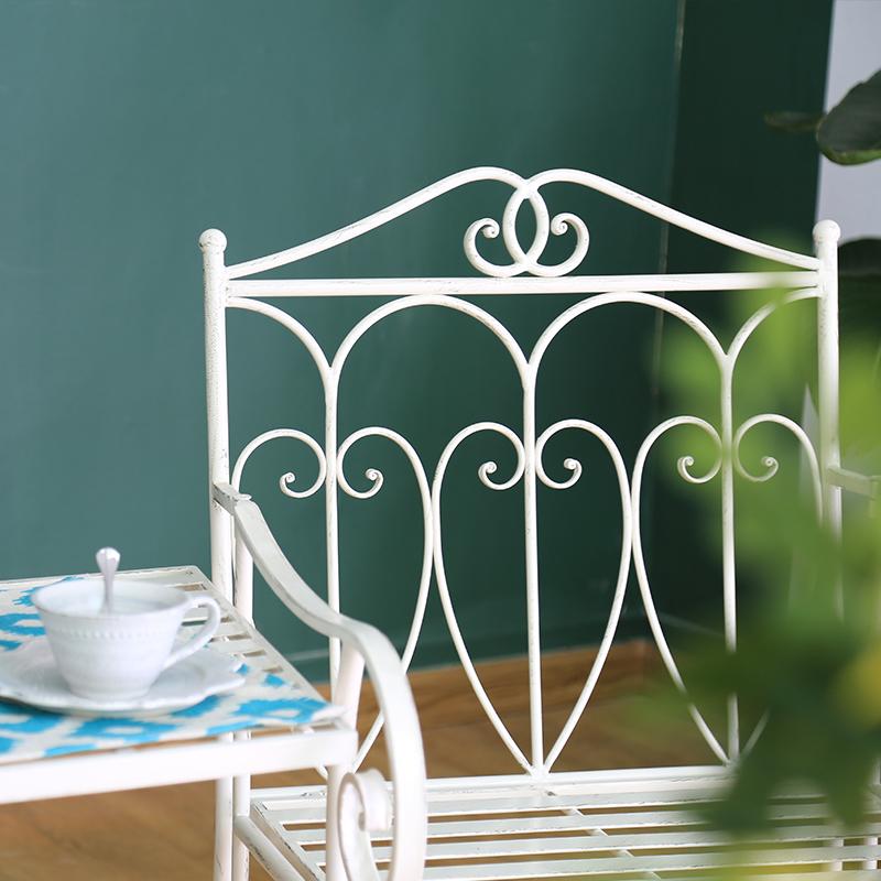 Modern Metal Outdoor Teak Garden Patio Bench Table Chair Online 38418