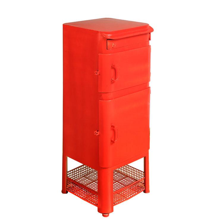 Red Iron Waterproof Drop Box 38486