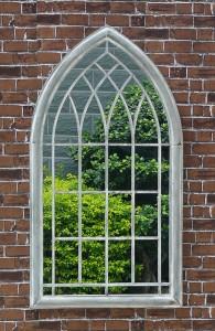 Rustic Large Outdoor Garden Decor Gothic Dressing FULL body Windowpane mirror 34556