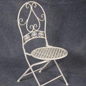 Wholesale Folding White Coffee Garden Wedding Chairs 7613