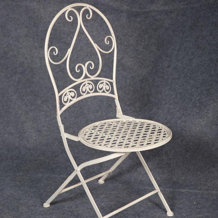 White Coffee Garden Wedding Chairs