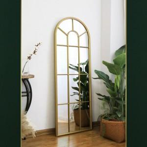 Wholesale Decorative Outdoor Indoor Metal Framed Vanity Wall Mirror 38408