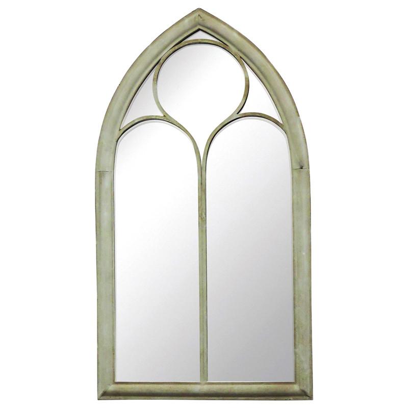 Wholesale Handicraft Metal Framed Decorative Wall Hanging Mirror 33301